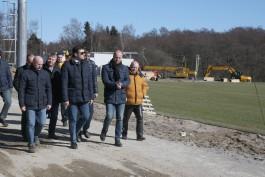 Тренировочную базу ЧМ-2018 в Светлогорске обещают сдать в мае