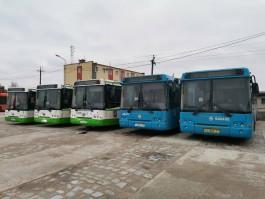 В Калининград привезли первые автобусы от правительства Москвы