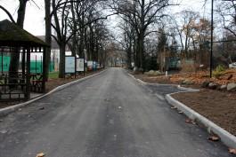 В калининградском зоопарке отремонтировали дорожки на липовой аллее