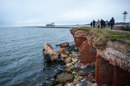 Мельников: На проект берегоукрепления в районе форта на Балтийской косе нужно 40 миллионов рублей