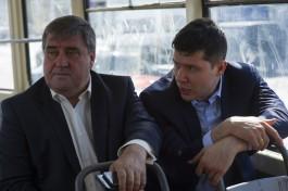 «Спиной закрывал перед губернатором вид из окна»: Силанов отчитал главу «Чистоты» за грязные остановки в Калининграде