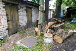 Власти Зеленоградска отменили снос сараев рядом с аварийными домами у променада
