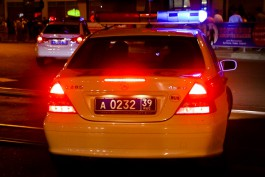 На ул. Гагарина в Калининграде пьяный водитель вылетел в кювет на чужом «Ленд Ровере»