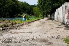 Реконструкцию Нижнего озера в Калининграде планируют завершить в ноябре