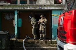 На Ленинском проспекте в Калининграде эвакуировали 48 жителей дома из-за пожара
