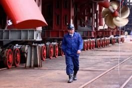 Судостроительный завод «Янтарь» начал работать без убытка