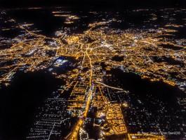 Фотограф сделал снимок Калининградской области с высоты почти три километра