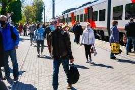 С 1 июня на станции в Зеленоградске начинают реконструировать платформы под «Ласточки»
