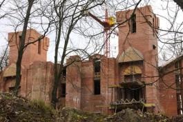 Кропоткин: Недостроенная мечеть в Южном парке превратилась в свалку