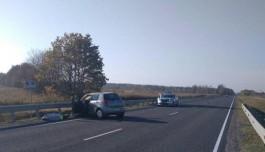 На трассе Калининград — Нестеров «Сузуки» врезался в ограждение: погиб мужчина