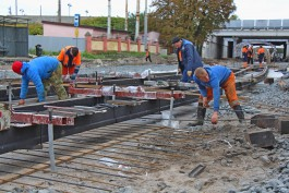 При ремонте улицы Киевской в Калининграде нашли старый ливневой колодец