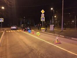 На улице Донского в Калининграде сбили двоих пешеходов на переходе