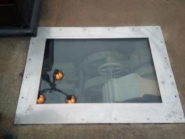 На Деревянном мосту открыли смотровое окно для обзора старинных механизмов