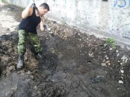 В Калининграде при реконструкции Нижнего озера рядом с роддомом нашли захоронение немецких солдат