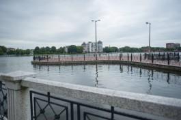 На Верхнем озере в Калининграде хотят построить цирк на воде