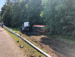 Алиханов поручил разобраться с причинами аварии с бензовозом и микроавтобусом под Гвардейском