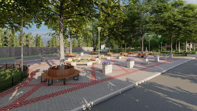 На улице Серебровской в Балтийске в 2021 году благоустроят новый сквер