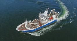 На заводе «Янтарь» передали заказчику первый траулер для камчатских рыбаков