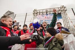 «Мяч на снежном поле»:  в Калининграде прошёл международный турнир «Автотора» по футболу