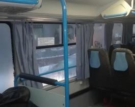 Зачем в калининградских автобусах занавески-пылесборники?