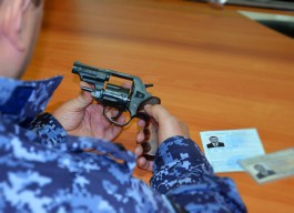 За неделю у калининградцев изъяли восемь единиц огнестрельного оружия