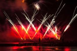 В воскресенье назначили дополнительные поезда в Зеленоградск на чемпионат фейерверков