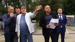 Силанов: Дворы должны быть в гармонии с новыми фасадами домов на улице Баграмяна