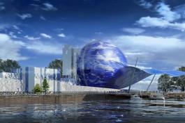 Компания из Санкт-Петербурга построит корпус-шар Музея Мирового океана за 652 млн рублей
