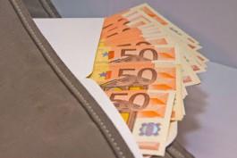 Россиянин пытался незаконно вывезти из Литвы 39 тысяч евро