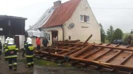 Из-за урагана в Польше погибли три человека, 16 получили ранения