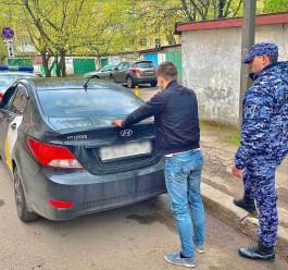 Росгвардейцы задержали калининградца, покинул не заплатив за бензин и уехал с заправки