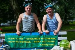 «Никто, кроме них»: как в Калининграде отмечают День ВДВ