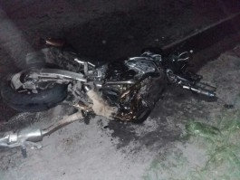 Под Балтийском «Форд» врезался в мотоциклиста: погиб человек