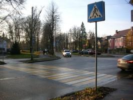 На ул. Тельмана в Калининграде «Понтиак» сбил ребёнка на переходе