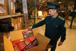 В Калининградской области уничтожат партию контрафактных конструкторов из Китая