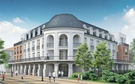 Власти Зеленоградска показали, как будет выглядеть здание торгового дома после ремонта
