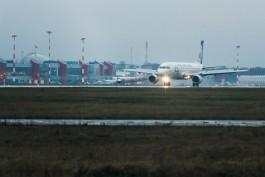 На новогодних праздниках пассажиропоток в аэропорту «Храброво» увеличился на 24%