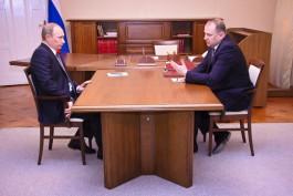 Путин обсудил с Цукановым развитие Калининградской области