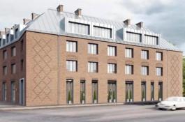 «Кафе и апартаменты»: корпорация развития показала эскизы реконструкции Дома пожарных в Калининграде