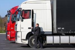На границе области скопилось 250 грузовиков из-за сбоя в работе литовских информационных систем