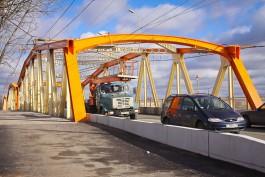В Калининграде планируют частично перекрыть реверсивный мост на улице Киевской