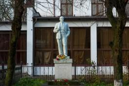 С Курортного проспекта в Зеленоградске решили убрать памятник Ленину