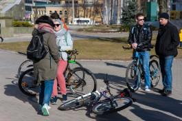 Из-за требований безопасности в Калининграде отменили открытие велосезона