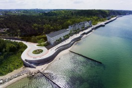 «Место диктует образ»: архитектор комплекса на променаде в Светлогорске — об особенностях проекта