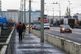 «Требует капремонта»: в Калининграде планируют снизить максимальную скорость движения по эстакадному мосту
