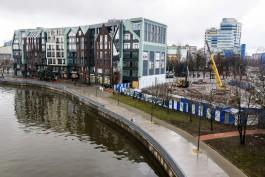 «Забыли про археологию»: в Калининграде приостановили строительство здания рядом с СК «Юность»