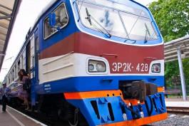 В субботу в Светлогорск и Зеленоградск пустят дополнительные поезда