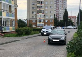 На улице Осенней в Калининграде «Форд» сбил четырёхлетнего мальчика