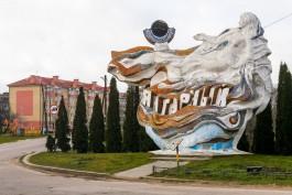 Бюст Ленина с центральной площади Янтарного установят на огороде в Синявино