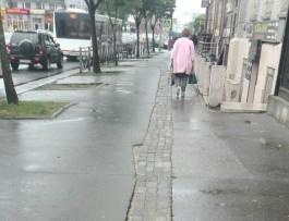 Тротуар на улице Черняховского — что это?